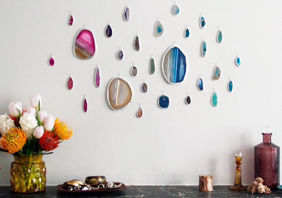 agate wall art