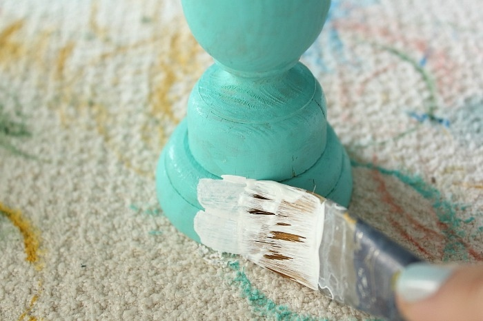 apply chalky paint