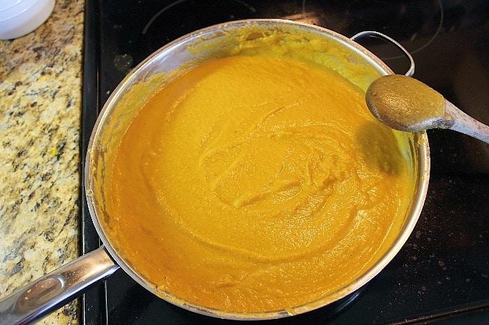 soup after blending