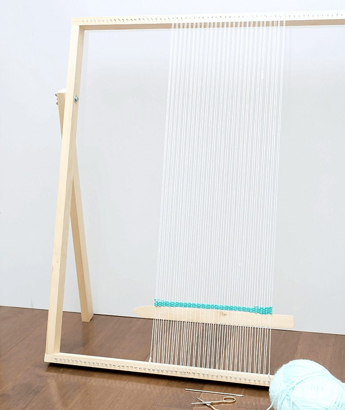 How To Make a Standing Loom With Adjustable Legs