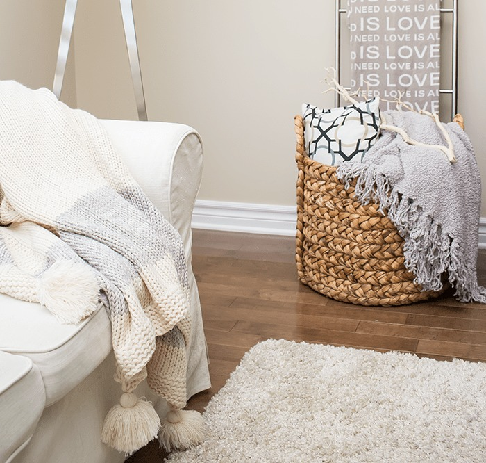 Decorating 101:  How Throw Pillows and Blankets Can Make Your Space Look Better INSTANTLY