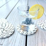 Easy-Peasy DIY Rope Coasters