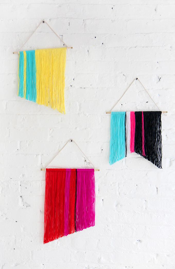mini wall hangings