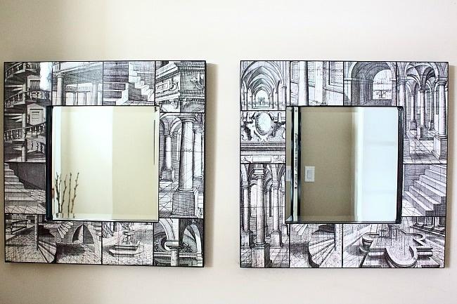 Art Mirrors // 8 Wall Decor ideas