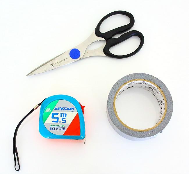 rewiring - materials used