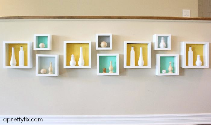 6 storage ideas - living room cubbies