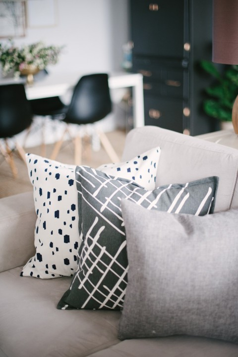 pillows for a cozy living room